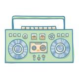 音频技术 免版税库存照片