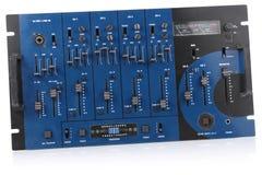 音频控制混合的面板 免版税图库摄影