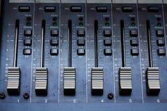 音频搅拌器 免版税库存照片