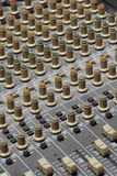 音频搅拌机 库存图片