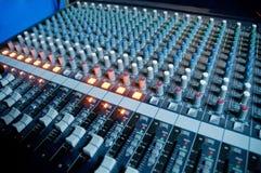 音频数字式工作区 免版税库存照片