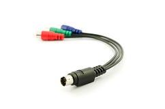 音频电缆 库存照片