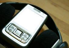 音频移动电话 免版税图库摄影