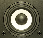 音频设备系统 库存图片
