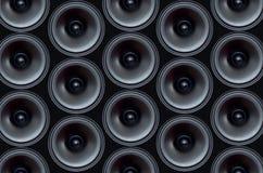 音频peaker样式 图库摄影