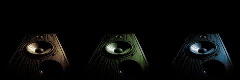 音频speaker3 库存图片