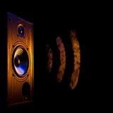 音频speaker5 免版税库存照片