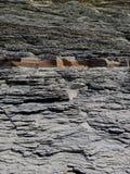 页岩峭壁 库存照片