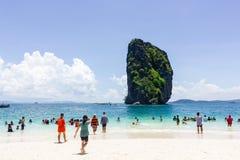 页海岛在泰国 库存照片