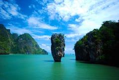 页海岛,普遍的海滩在泰国 免版税图库摄影