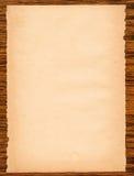页纸木头 免版税图库摄影