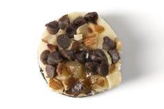 顶上微型的乳酪蛋糕 免版税库存照片