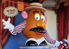 顶头先生potato 免版税图库摄影