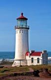 顶头和平的洗涤的灯塔北部海洋 免版税库存图片