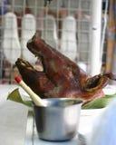 顶头猪烘烤 免版税图库摄影