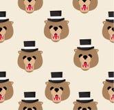 顶头玩具熊样式 免版税图库摄影
