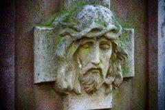顶头耶稣 库存图片