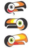 顶头toucan 免版税库存照片