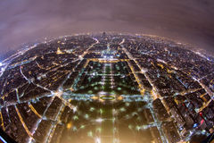 巴黎顶层 库存照片