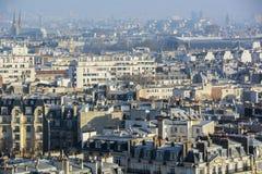 巴黎顶层 免版税图库摄影