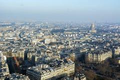 巴黎顶层 免版税库存照片