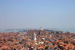 顶房顶威尼斯 免版税图库摄影