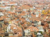 顶房顶威尼斯 库存照片