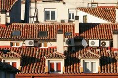 顶房顶西班牙 免版税库存图片