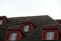 顶楼房屋 库存照片