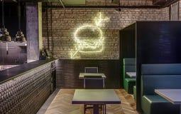 顶楼样式的餐馆 免版税图库摄影