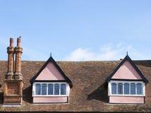 顶楼粉红色 库存照片