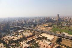 从顶的埃及的开罗 库存图片