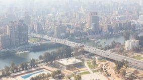 从顶的埃及的开罗 库存照片