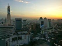 顶视图城市 免版税库存图片