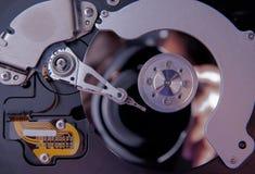 顶视图磁盘驱动器 库存照片