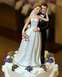 顶部婚礼 库存图片