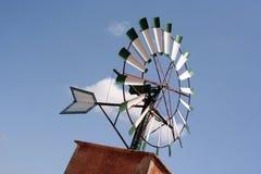 顶部风车 免版税图库摄影