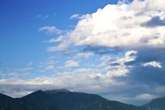 顶面天空 库存图片