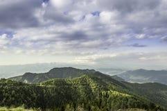 从顶面山的看法 图库摄影