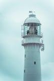 顶面部分(光)一座高灯塔 维护会议 库存照片