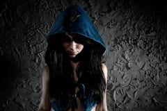 顶头敞篷妇女年轻人 图库摄影