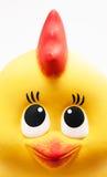 顶头玩具公鸡 免版税库存照片