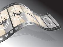 项目电影 向量例证