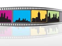 项目电影 免版税图库摄影