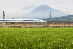 项目符号shinkansen培训 库存照片