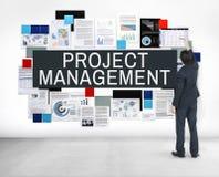 项目管理方法过程概念 免版税库存照片