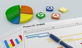 项目管理 免版税图库摄影