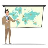 项目介绍 企业字符 图库摄影