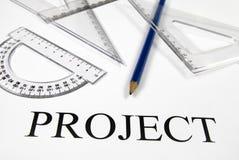 项目 免版税库存照片