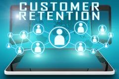 顾客保留 向量例证